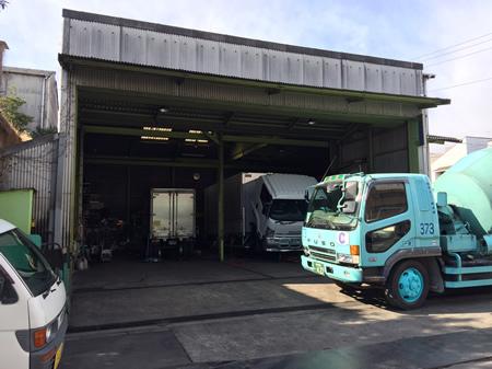 大型トラック整備 車検
